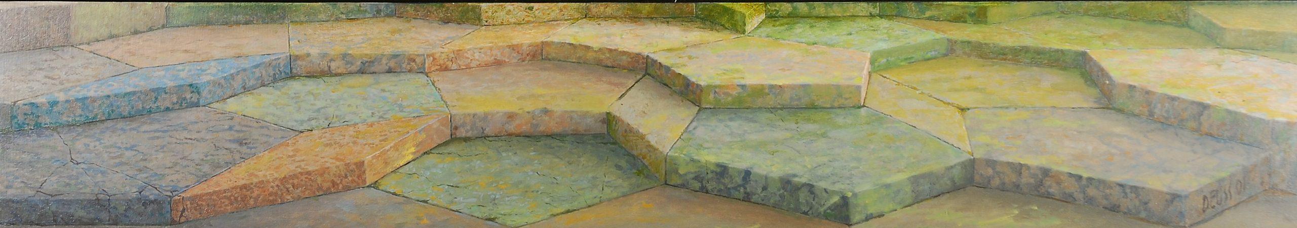 Met dank aan Dürer 58,5 x 10,5 2001